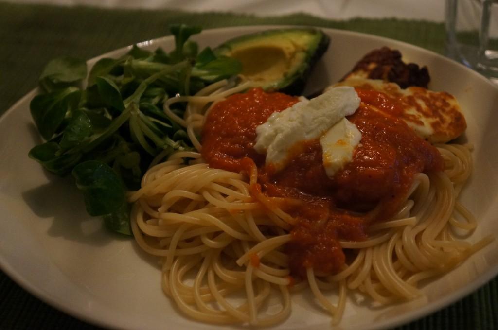 enkel spagetti