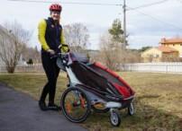Chariot CX1 test av barnvagn (1)