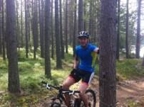 I skogen!