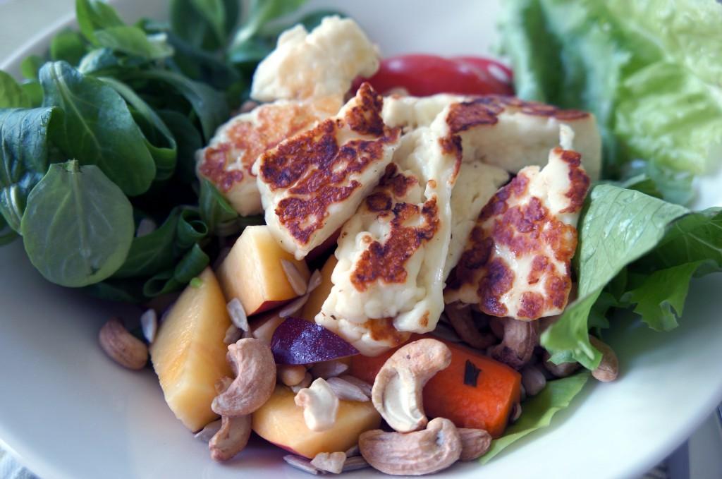 enkel sallad 1024x679 Enkel vegetarisk sallad