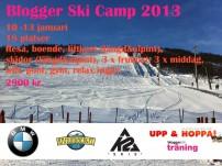 Blogger Ski Camp 2013