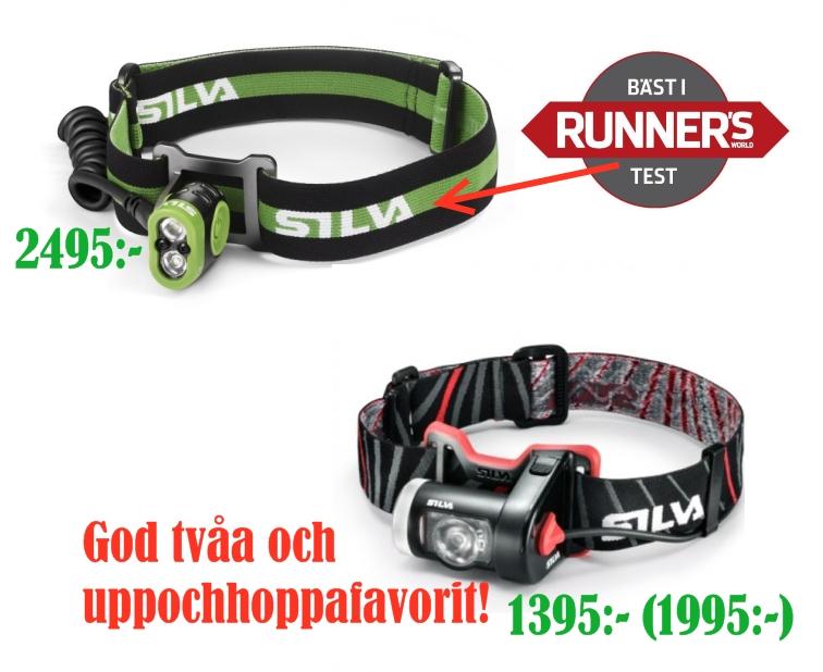 silva xtrail1 Pannlampa för löpning
