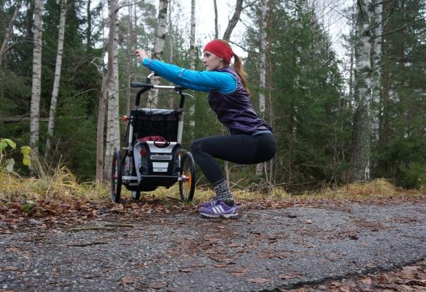 träning med barnvagn