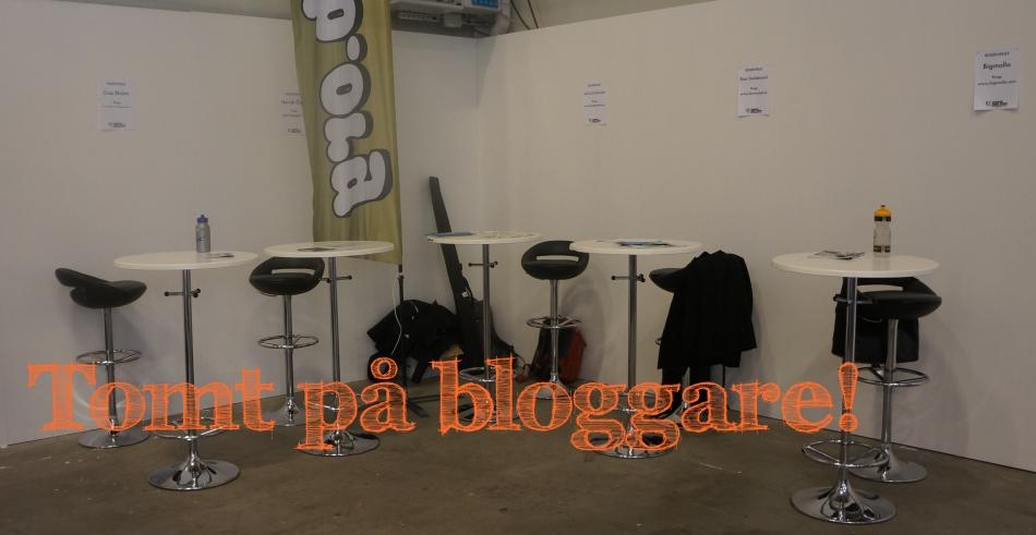 bloggare på bike expo