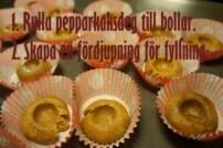 Pepparkaksbollar med frosting – Recept till glöggmingel