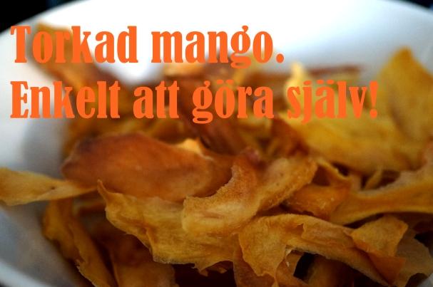 torkad mango