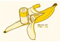 En halv banans galenskap.