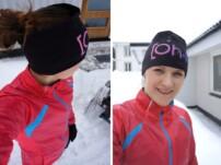 Löpskolning i vintervitt