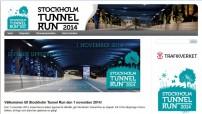 Nytt engångslopp – Stockholm Tunnel Run