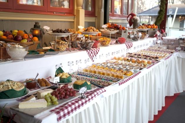 villa godthem dessertbord