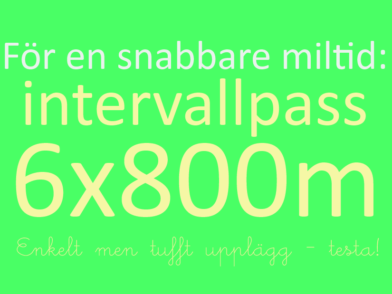 800mintervaller