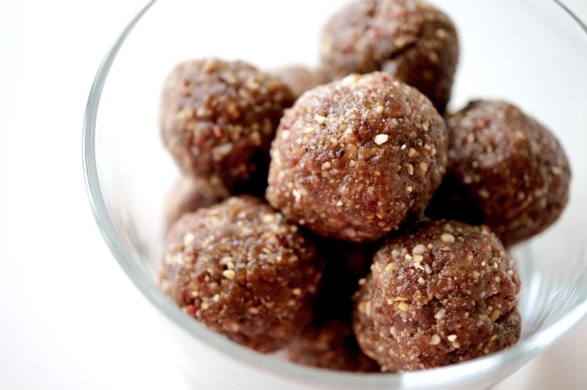 peanutbutter choko balls