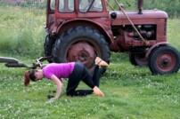 Donkey kick – en bra rumpövning