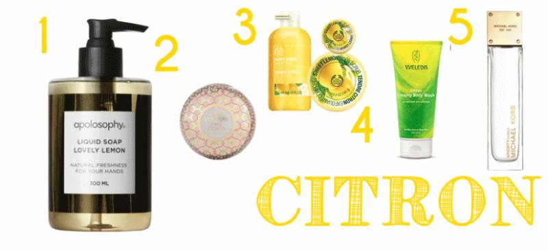 citrus, favoriter med citron