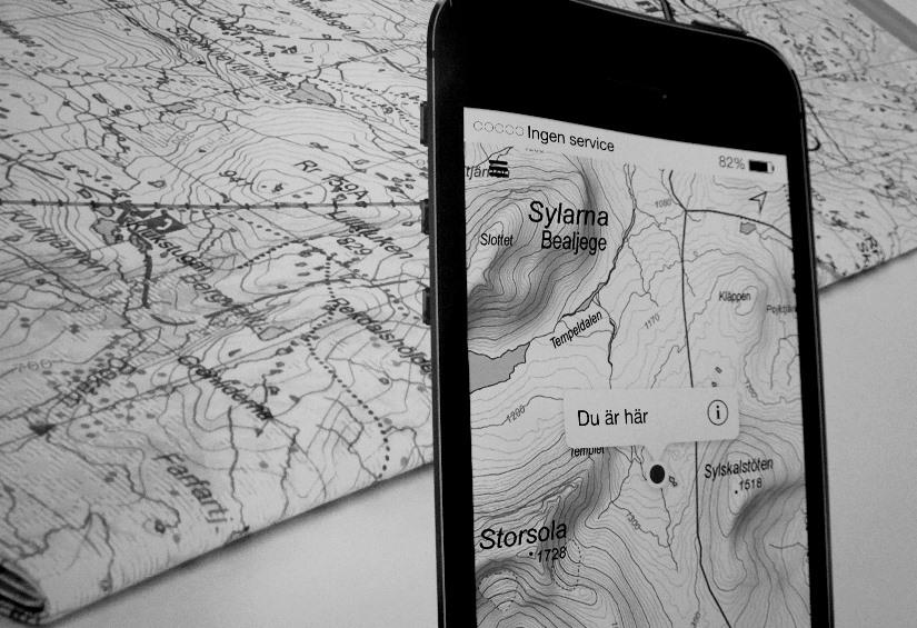 kartor i mobilen