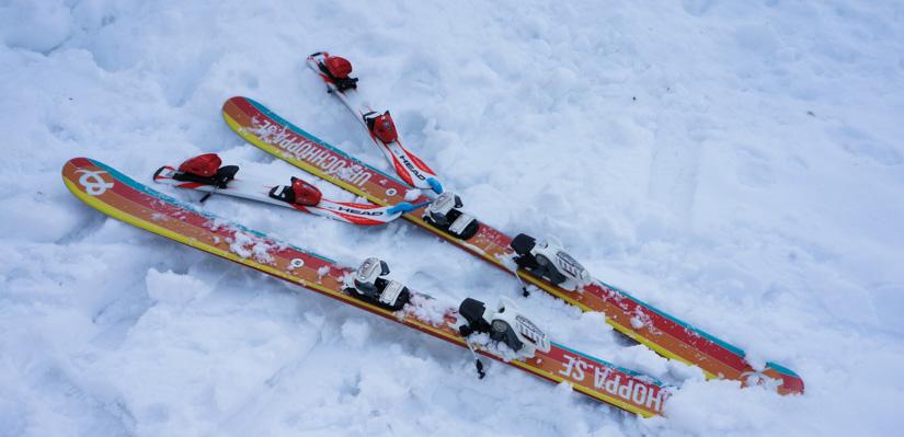 tips lära barn åka skidor
