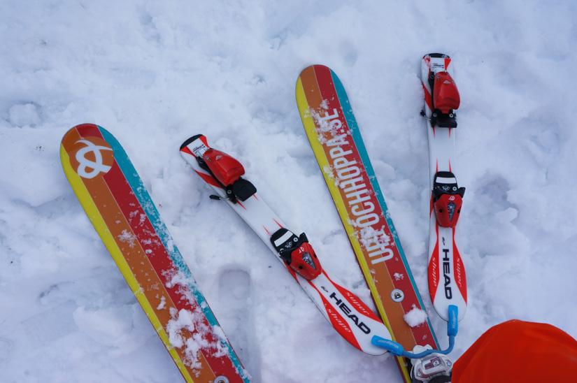Lära barn åka slalom