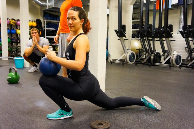 stretch för rörlighet i fotleder