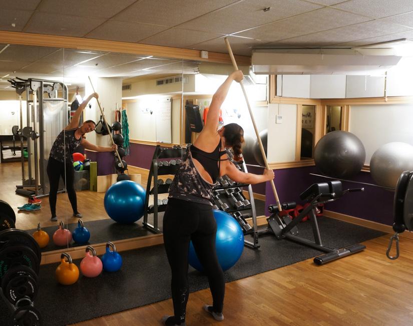 övningar pinne rörlighet