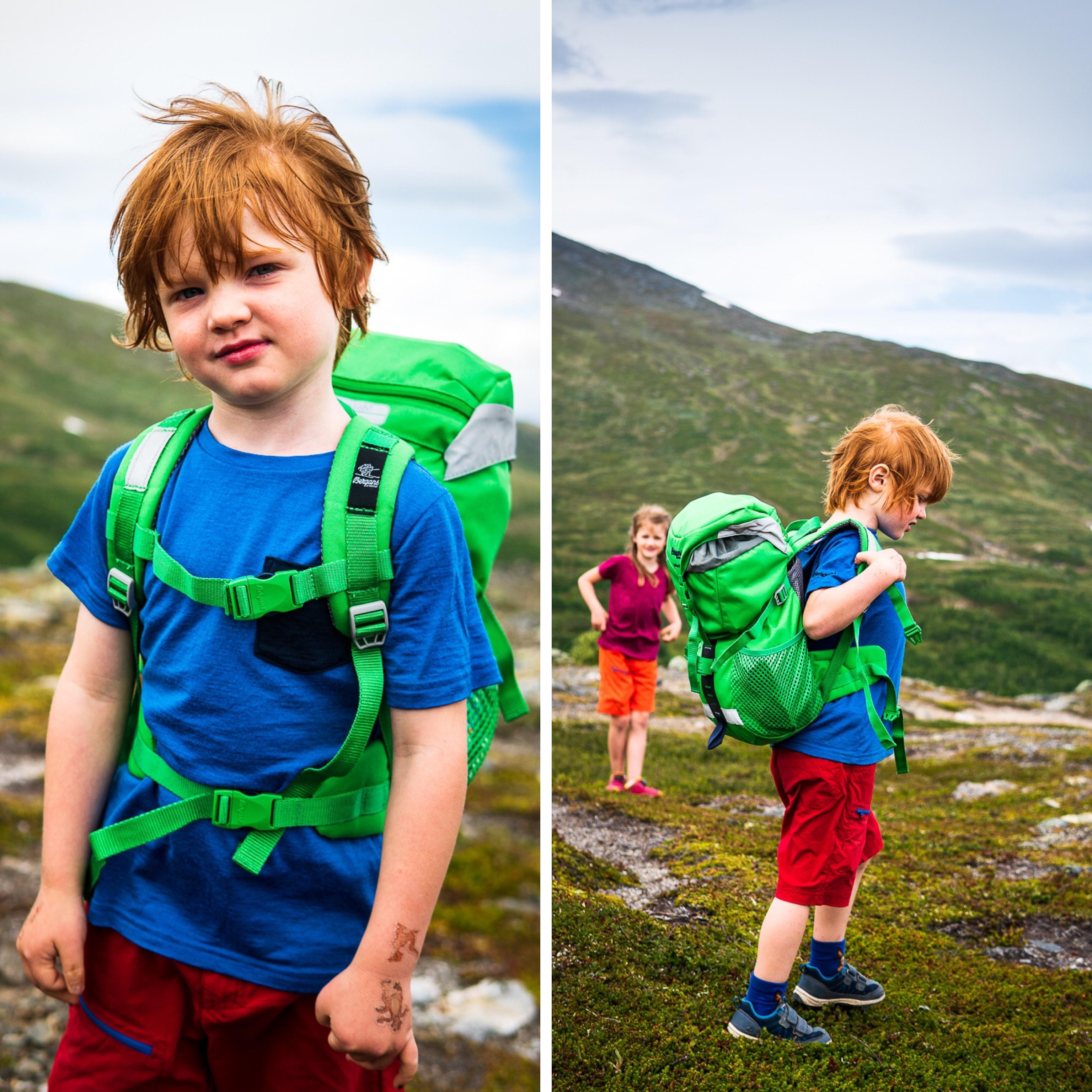 Storulvån – tälta med barn