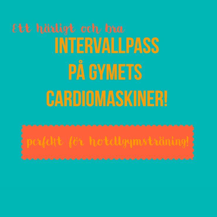 intervallpass cardiomaskin