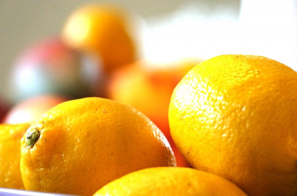 citroner och lemonad