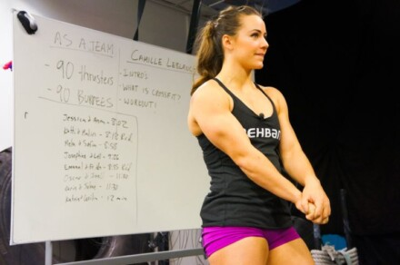 crossfit med camille leblanc bazinet