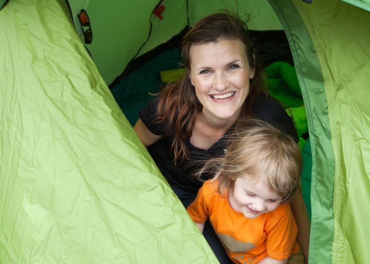 tälta och campa med barn, tips