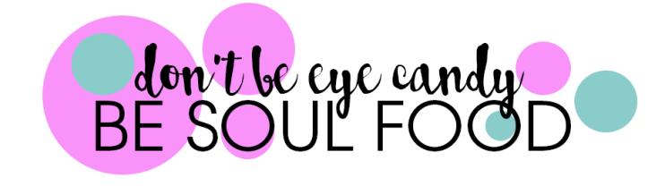 don't be eyecandy
