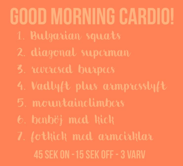 cirkelpass godd morning cardio