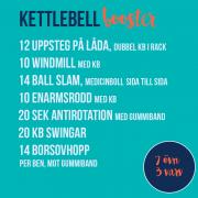 traningspass kettlebell