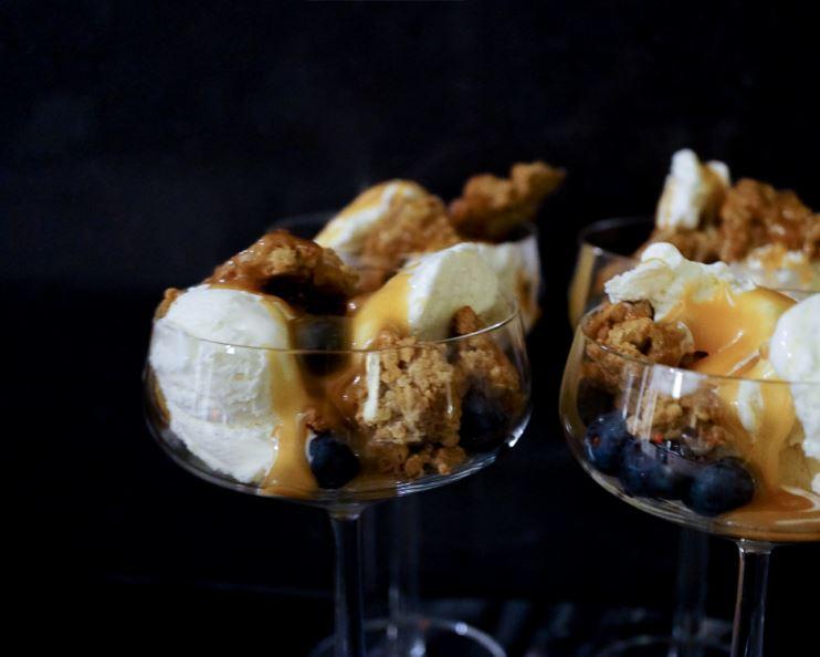salted caramel sås recept