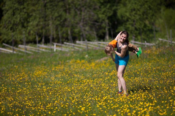 barns motion och rörelse