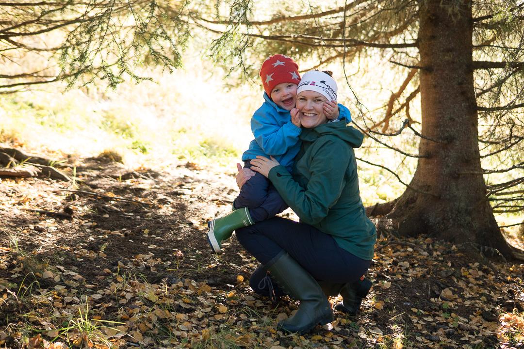 I svampskogen – stövlar på i jakt på guld