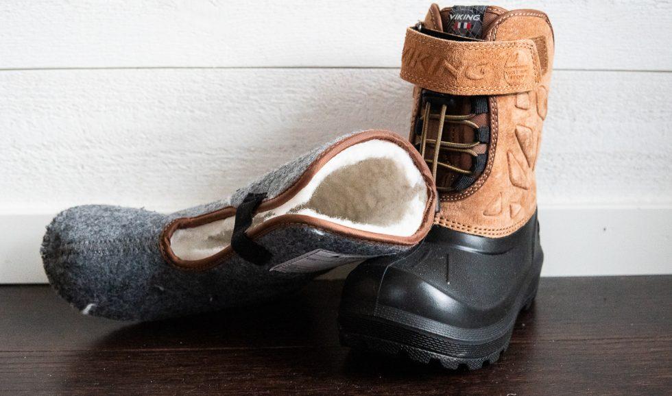 vinterskor varma fötter i vinter