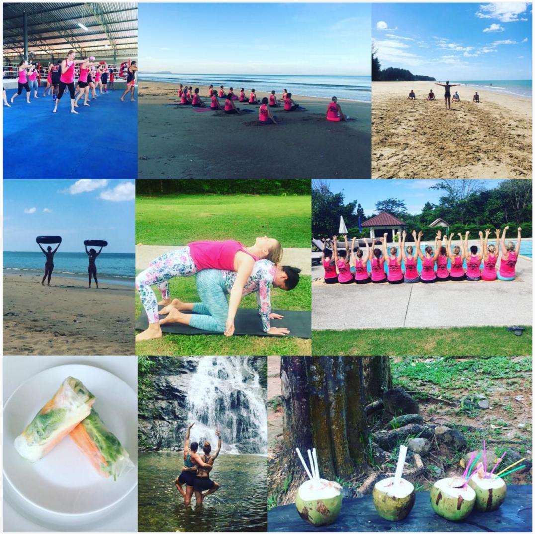 träningsresa thailand