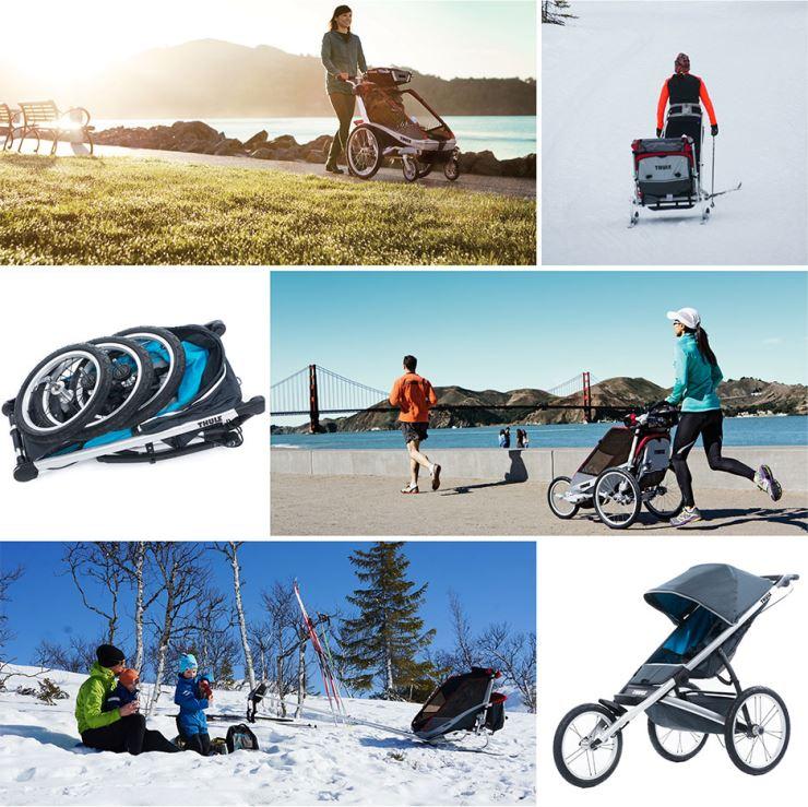 thule barnvagn
