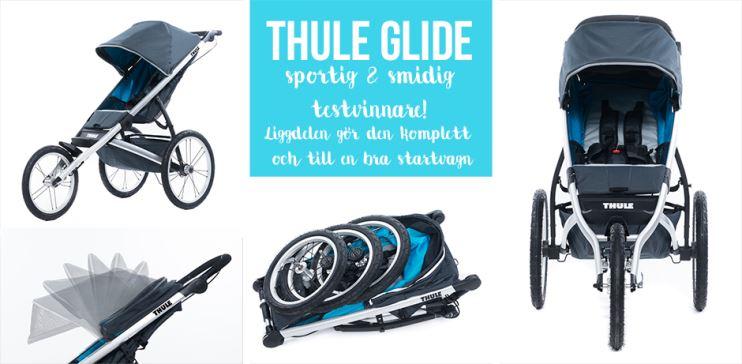 thule barnvagn thule glide test
