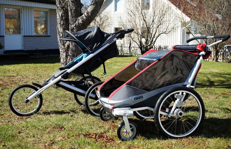 thule chariot barnvagn