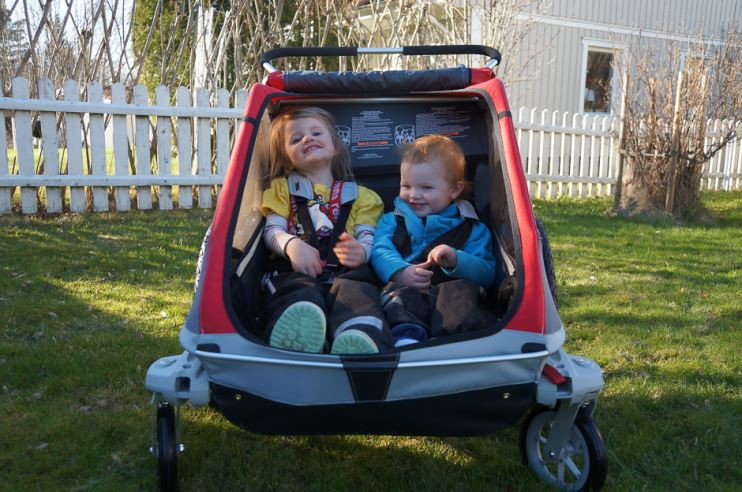 thule chariot barnvagn test