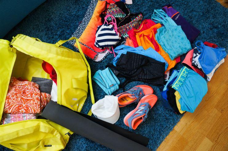 packa för träningsresa