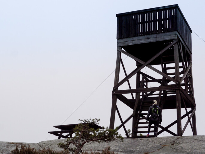 björnö naturreseravt utskikstorn