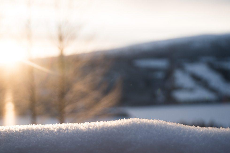 anledningar att älska snö