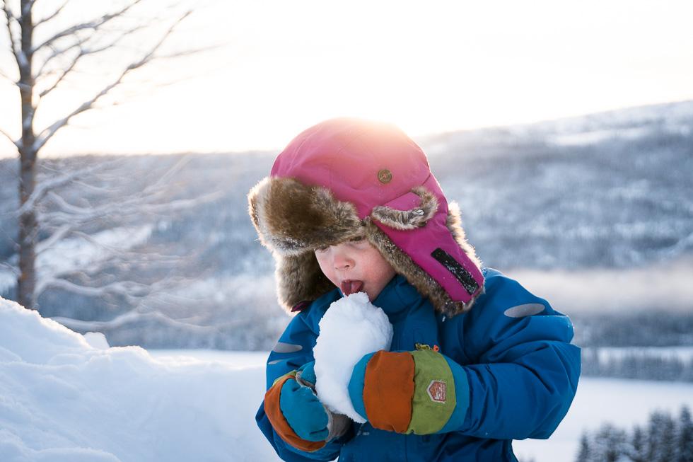 varma vinterhandskar för barn